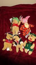 "Disney Store NWT ""Winnie The Pooh"" Mini Bean Bag Set Lot of 5"