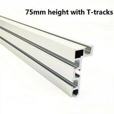 800mm 75 Type T-Slot Aluminium Alloy Universal Woodworking Backer Band