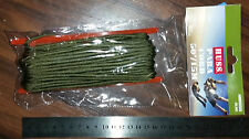 PARA CORD - OLIVE GREEN or BLACK MILITARY CAMPING SURVIVAL 15M NEW MADE