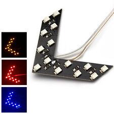 1x Car Auto Turn Signal LED Light RearView Mirror Indicator 14-SMD Arrow Panel
