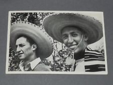 BERLIN 1936 OLYMPIC GAMES OLYMPIA JEUX OLYMPIQUES BASKETBALL MEXICO MEXIQUE