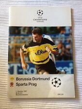 Prg. cl 97/98 borussia dortmund-sparta Praga