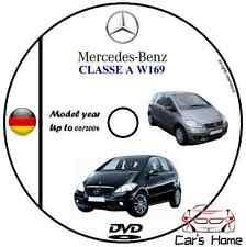 MANUALE OFFICINA MERCEDES CLASSE A (W169) my 2004-2012 WORKSHOP MANUAL DVD