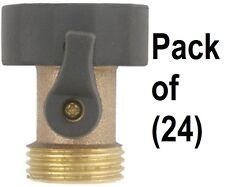 (24) ea Green Thumb 03VGT Brass Garden Hose / Faucet Shut Off Valve