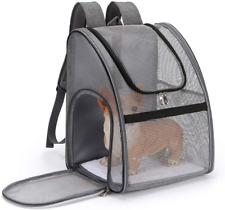 PETCUTE Cat Carrier Dog Backpack Expandable Pet Carrier Backpack Portable dog bo