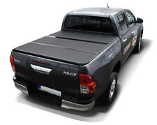 TOYOTA HILUX REVO 2015-Tri Fold FLIP Bed cover Hard Folding Hardtop pickup