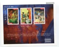 LAOS STAMP 2010 TRADITIONAL FESTIVAL SHEET