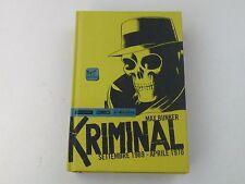 KRIMINAL SETTEMBRE 1969 APRILE 1970 MAX BUNKER- FUMETTO MONDADORI 2014- BUONO L8