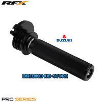 RFX Pro Throttle Tube Suzuki RM 125  RM 250 2001 2002 2003 2004 - 2010 Black
