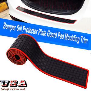 35'' JDM Car Truck SUV Rear Bumper Sill Protector Plate Guard Pad Moulding Trim