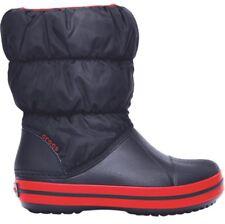 Crocs 14613 Childrens Winter Puff Boot Navy red Various Sizes 6 UK   C6   4dc81819cbe