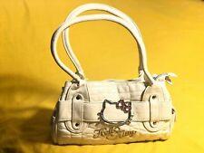 Hello Kitty Hand Bag Cream Bag Handbag Bags Faux Leather Kids Women Children Kid