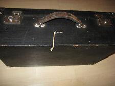 Antiker Koffer,Transportkoffer 1930.Jahre aus Holz mit Überzug-Old decora