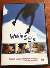 Waking Life Rated R, Director Richard Linklater 2002, Animated Film Dvd