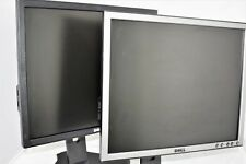 """Dell 19"""" Flat Panel LCD TFT PC Movie Game CCTV Home Business Monitor GradeA D2"""