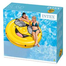 Intex große Badeinsel Luftmatratze Cool Face Smiley 173 cm NEU 228802