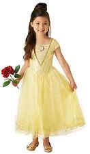 Disney Deluxe Mädchen NEU Film Belle Schöne und Biest Kostüm Kleid Outfit
