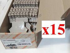 (LOT of 15) NEW Weidmuller 1011000000 WSI 6 Terminal Block