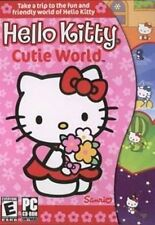 Hello Kitty Cutie World  Have Fun Playing 8 Challenging Games  NEW in Retail Box