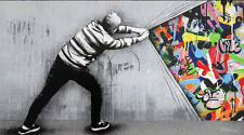 Martin Whatson - Behind The Curtain - Main Edition Print Art xx/175 sold out