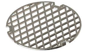 Grilleinsatz für Feuerplatte Plancha 60/80/100cm Baustahl / Edelstahl