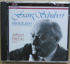 Franz Schubert-miniature-Alfred Kitchin, piano-CD NUOVO & OVP