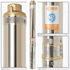 3 Zoll Sandverträglich mehrstufige Tiefbrunnenpumpe Tauchpumpe Wasserpumpe Pumpe