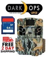 Browning 2019 Dark Op HD APEX BTC-6HD-APX 18MP Camera HD Video w/ FREE SD 64GB