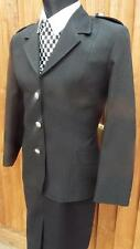 "NEW GENUINE WPC Police Woman Officer black uniform Jacket  40""  70s 80s size 16"