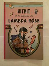 NITNIT et le MYSTÈRE du LAMBDA ROSE (Parodie/Pastiche Tintin) Hommage à Hergé