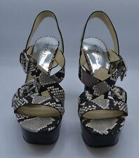 MICHAEL Michael Kors - Josephine Platform - Leather - Snake Print - 8.5M - NWB
