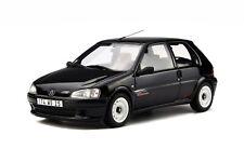 1/18 Otto Models Peugeot 106 rallye 1996 Noir Onyx OT706 cochesaescala