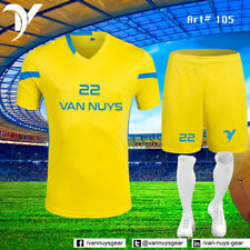 VANS 14 Team Uniform Set Shorts & Shirt Soccer Set Sublimated Wholesale kits