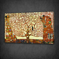GUSTAV KLIMT THE TREE OF LIFE CANVAS PRINT WALL ART READY TO HANG