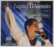 CD + DVD Lupita D'alessio  Yo Sigo Aqui En Vivo Desde El Pricess NOW SHIPPING !