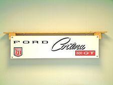 Ford Banner Cortina MK2 1600 GT for workshop garage display