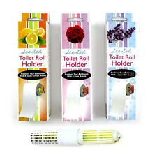 6 Pc Scented Toilet Tissue Paper Roller Holders Roll Replacement Spindle