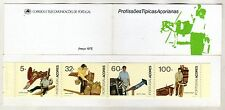 Azores Booklet sc#394b (1990) Typical Professions MNH** (T)