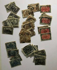 Deutsches Reich  1,50, 2, 3 und 5 Mark  -  Doublettensammlung  - mehr als 50