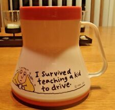 Driving School Coffee Mug I Survived Teaching A Kid To Drive Gift Teacher Parent