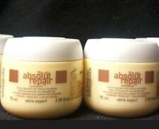 L'Oreal Absolut Repair Mask Masque x's 2 ~ 2.55 ounce each For Damaged Hair