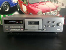 More details for sony tc-kb920s qs 3 head stereo cassette deck in silver tested working