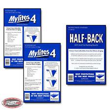 100 - E. Gerber Half-Back & Mylites 4 Standard Mylar Bags & Boards - 700HB/725M4