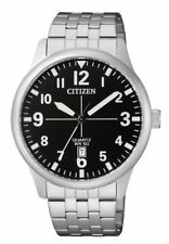 Citizen Mens Quartz Watch. Date Display & 50m WR.Classic and Elegant. BI1050-81F