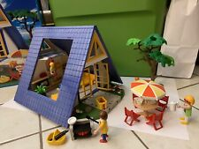 Playmobil 3230 Family Vacation House A Frame In Box Vintage