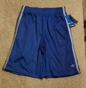 New With Tags Champion Boy's Large Royal Blue Shorts