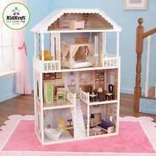 "KidKraft New Savannah Dollhouse 65023, 33.66""L x 13.54""W x 51.06""H New"