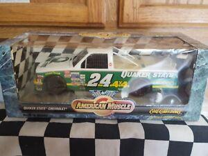 1/18 Scale Diecast ERTL NASCAR #24 Quaker State NASCAR Truck Series Nice