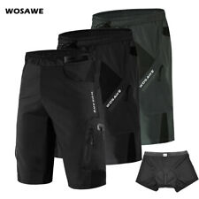 Men's Ciclismo Shorts soltos Acolchoado Para Mtb Mountain Bike Bicicleta Calças Curtas Racing