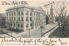 Postcard Court House Troy New York
